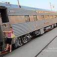 Me & the train