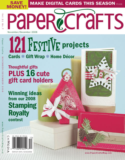 My Favorite Things Paper Crafts Magazine Cover