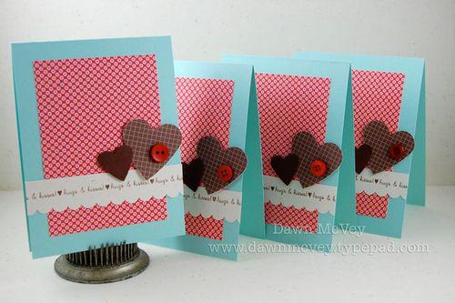 My Favorite Things Winters Valentines – Simple Valentines Cards