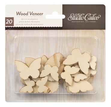 331050_WoodVeneer_Butterflies