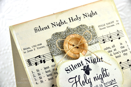 Vintage Silent Night Sheet Music of Vintage Sheet Music