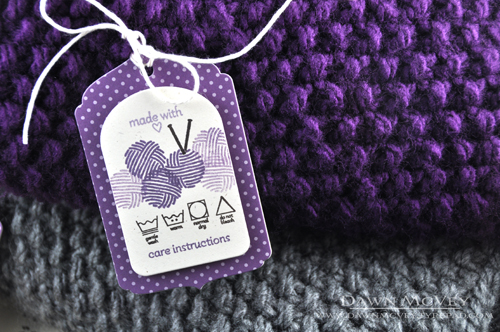 Knitting Gift Tags : Gift tags for handmade items my favorite things dawn