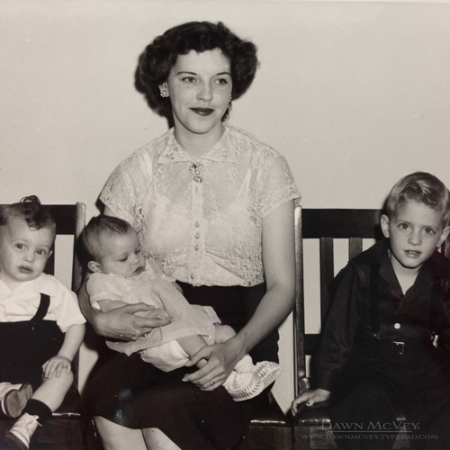 Grandma J with babies.1