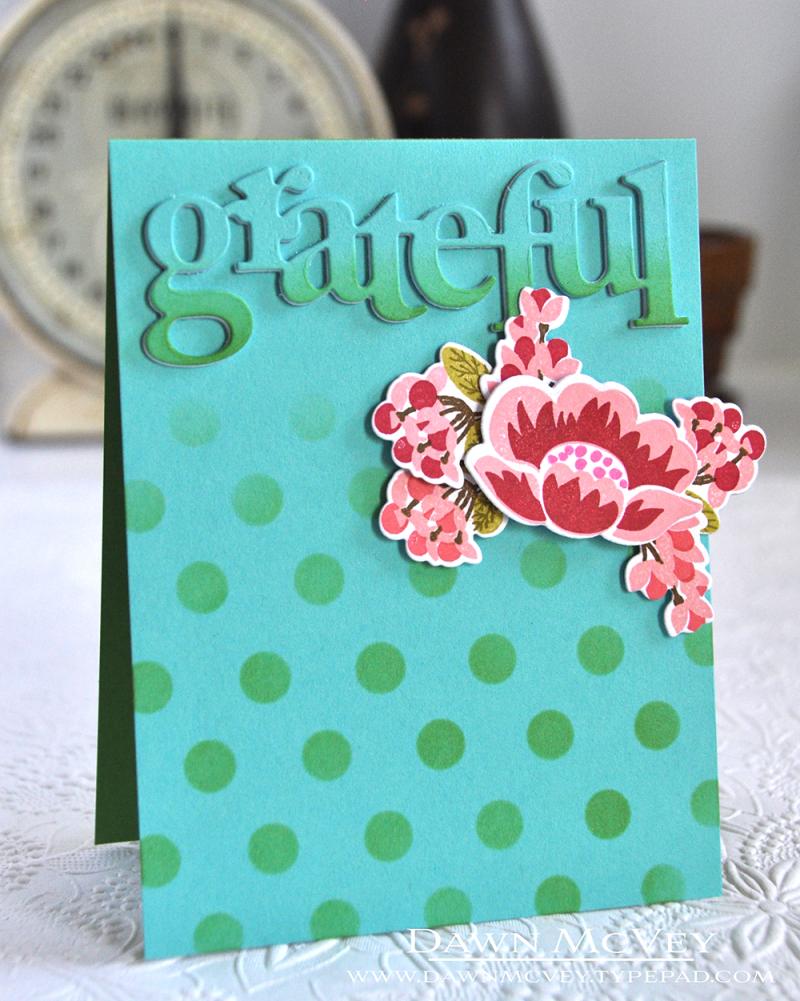 Stencil Dots - Grateful1