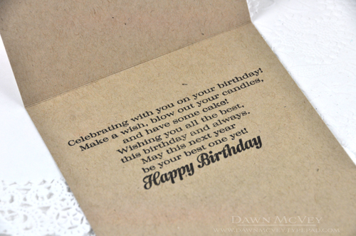 My Favorite Things Introducing Bloomers Scripted Enclosed – Things to Say on a Birthday Card