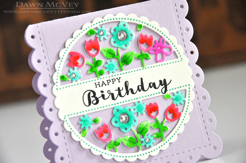 Cutaway Tags-Spring happy birthday dtl