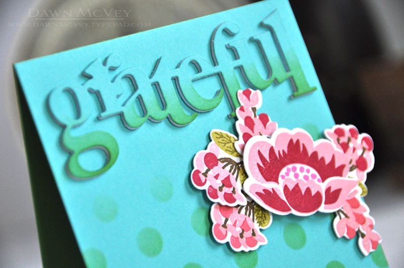 Stencil Dots - Grateful2