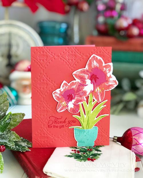 Dawn_McVey_Blooming_Amaryllis_Seasons_Greetings_1