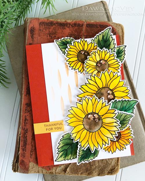 Dawn_McVey_Pretty_Pink_Posh_Sunflowers_1