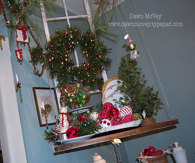 Hanging Christmas Display