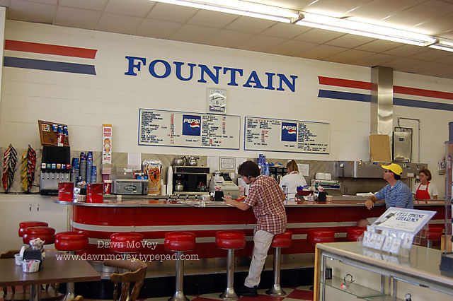 Drug Store Soda Fountain