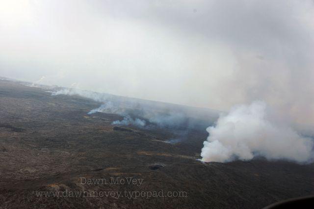 Steaming Lava Field