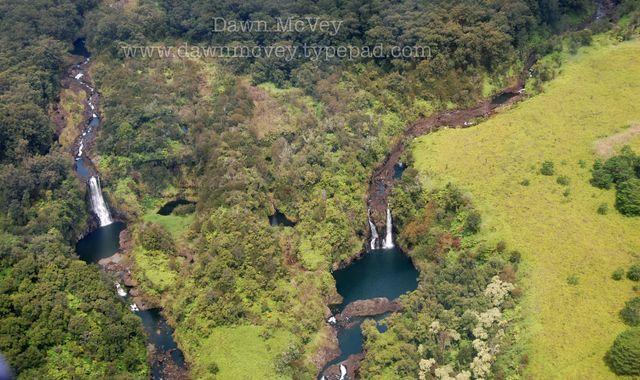 Waterfall on the Big Island