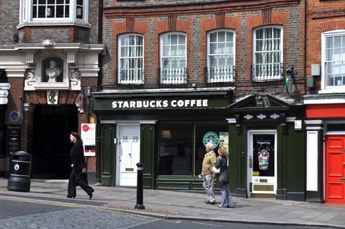 Starbucks in Windsor