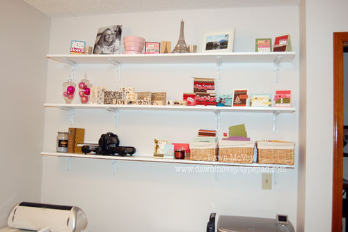 My Studio Wall Shelves