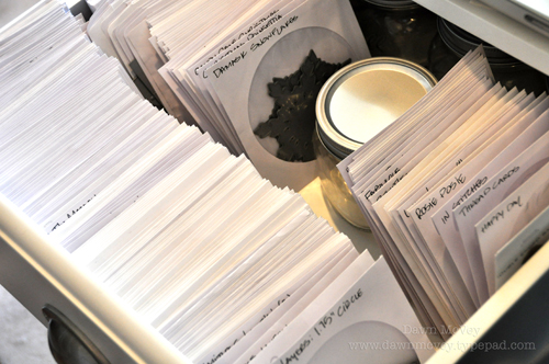 Papertrey Die Storage