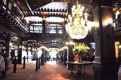 Inside Hotel del Coronado